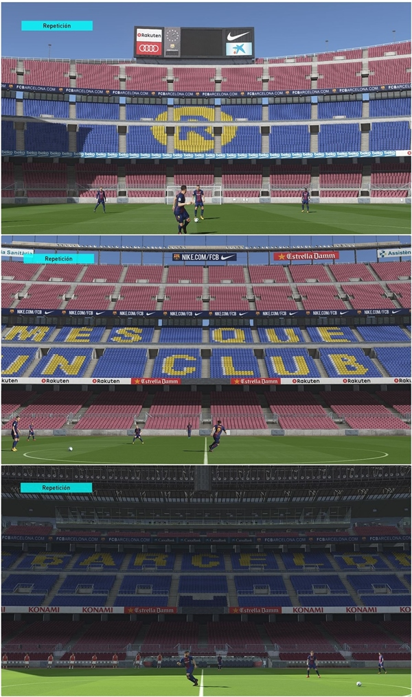 Camp Nou Mod PES 2018 PC - by Txak
