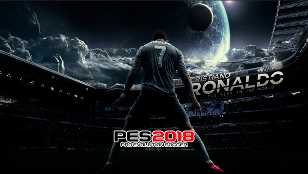 Start Screen Cristiano Ronaldo PES 2018 - by EnanoC27