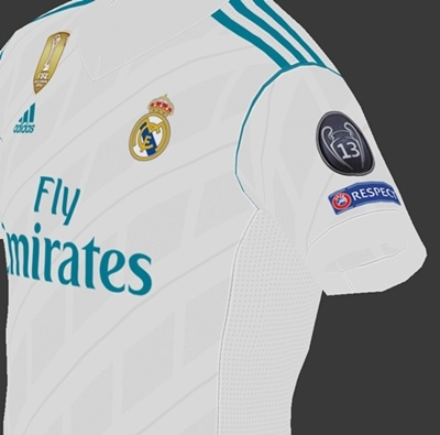 kit real madrid pes 2018