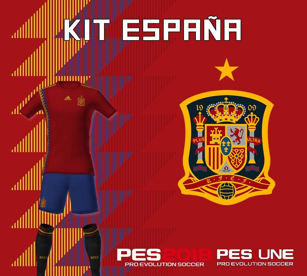 kits españa pes 2018