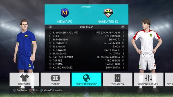 option file super campeones pes 2018