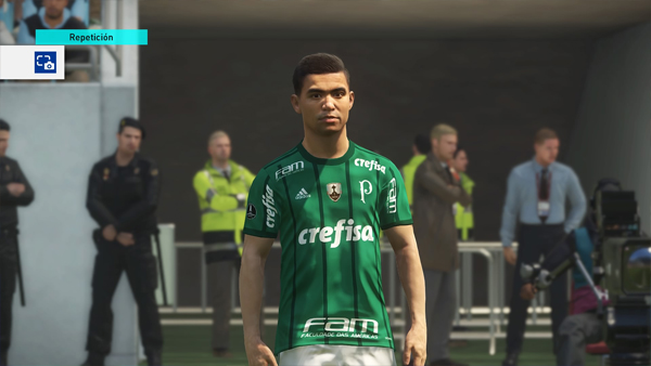 OF conmebol pes 2018