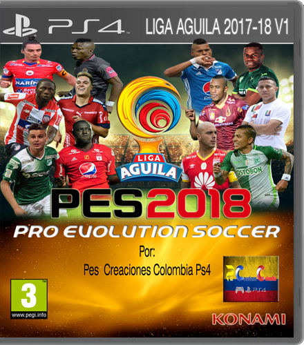 option file liga aguila pes 2018