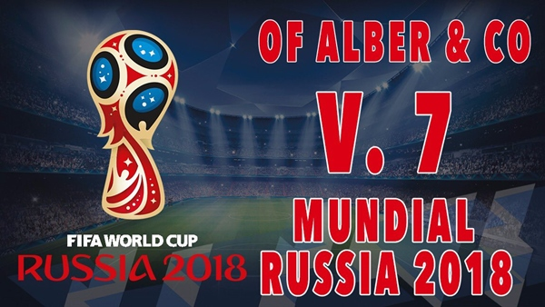 OF Alber & CO Mundial Rusia V7.0 PES 2018 PS4