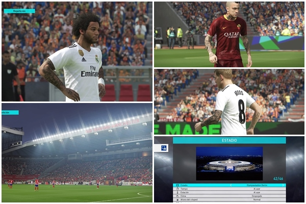 Parche PES 2018 PS4 - by buenolacasito