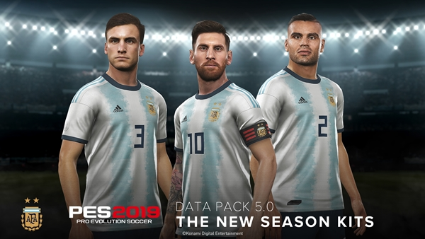 Ya disponible el Data Pack 5.0 de PES 2019 para PlayStation 5, Xbox One y PC Steam