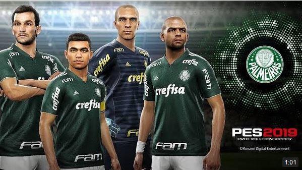 0a5b05c670ad7 PES 2019  El Palmeiras será partner con su estadio