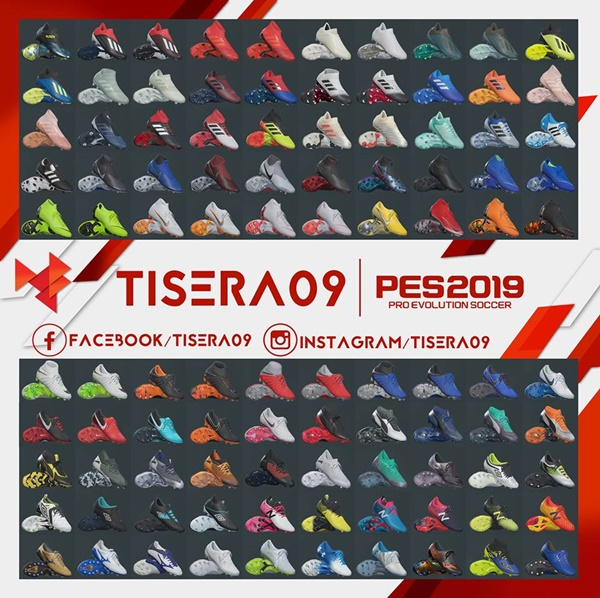 BootPack Vol.2 PES 2019 - by Tisera09