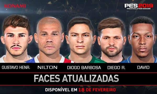 Facepack Brasil PES 2019 - by Lucas Facemaker