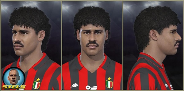 Frank Rijkaard Face PES 2018 y PES 2019 - by Master Stels