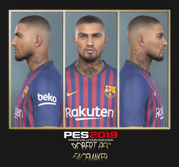 Kevin Prince Boateng PES 2019 - by RobertPes Facemaker