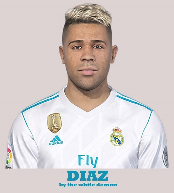 cara mariano real madrid pes 2019