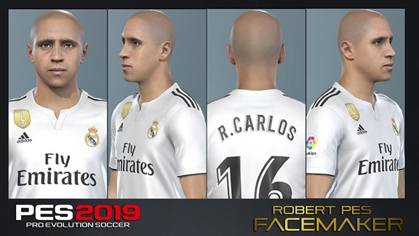 Roberto Carlos Face PES 2019 - by RoberPes Facemaker