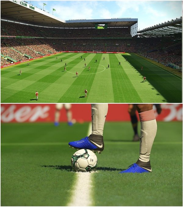 All In One Enhanced Turf Pack v4.1 PES 2019 - by endo