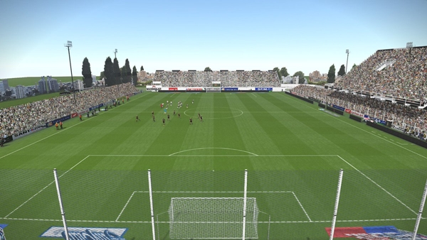 Estadio Alfredo Terrera PES 2019 - by the_pelado