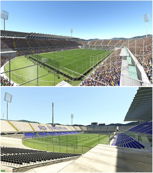 estadio fiorentina pes 2019