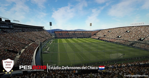 Estadio Defensores del Chaco PES 2019 - by Arthur Torres