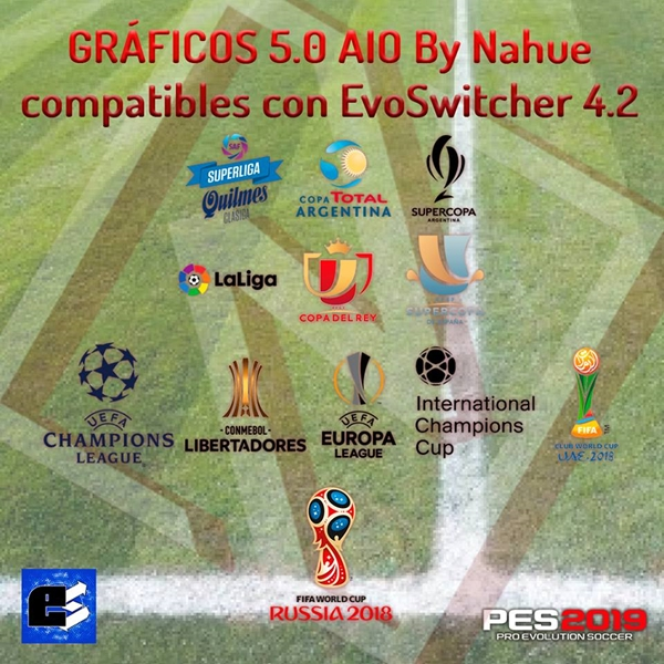 Gráficos 5.0 AIO PES 2019 - by Nahue Facemaker