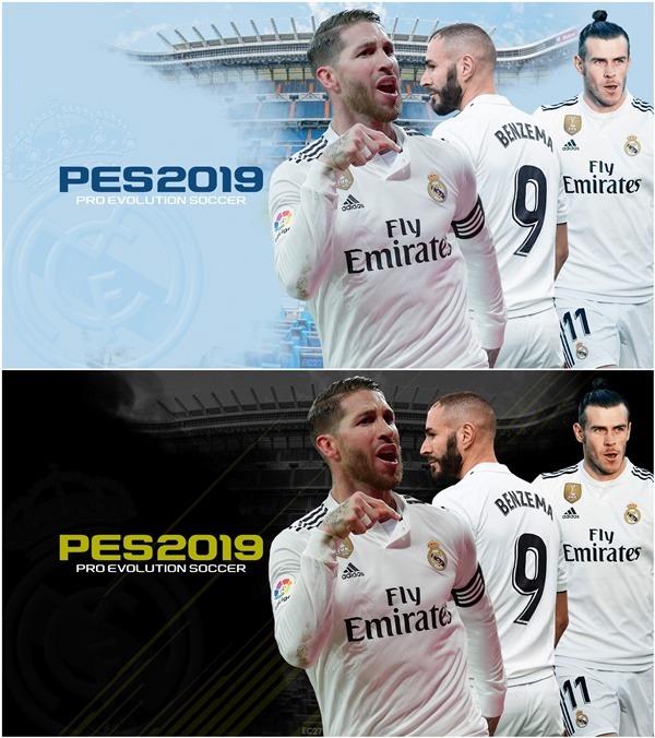 Real Madrid StartScreens PES 2019 - by EC27