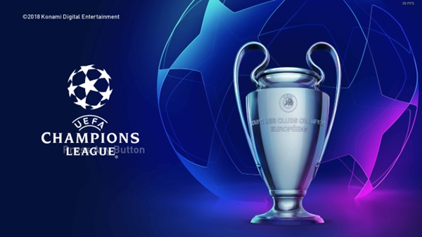 Pantalla inicio trofeo Uefa Champions League PES 2019 PC - by ABW