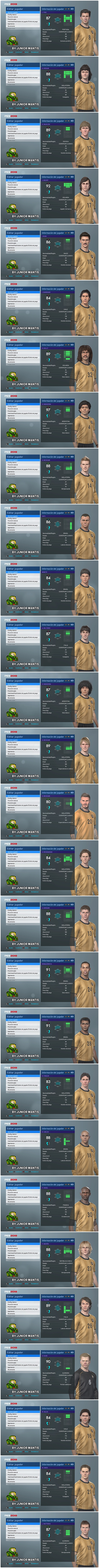 MyClub Legends Offline V2 PES 2019 PS4 - by Junior Mantis