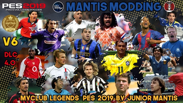 MyClub Legends Offline V6 PES 2019 PS4 - by Junior Mantis