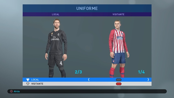 option file pes 2019 ps4