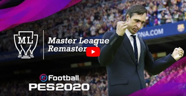 Trailer oficial de la Master League en Efootball PES 2020