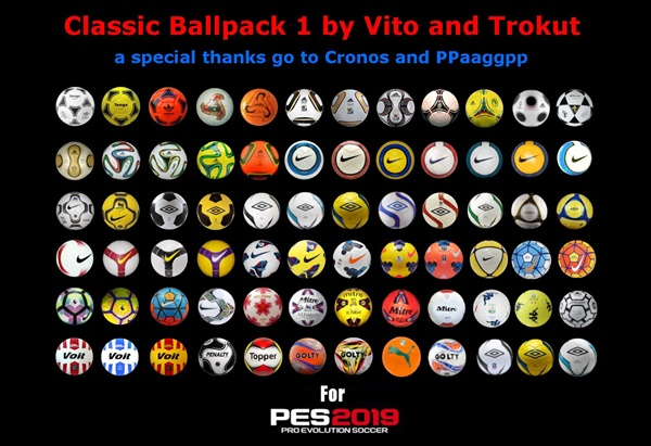 Ballpack Classic v1 PES 2020 - by Vito