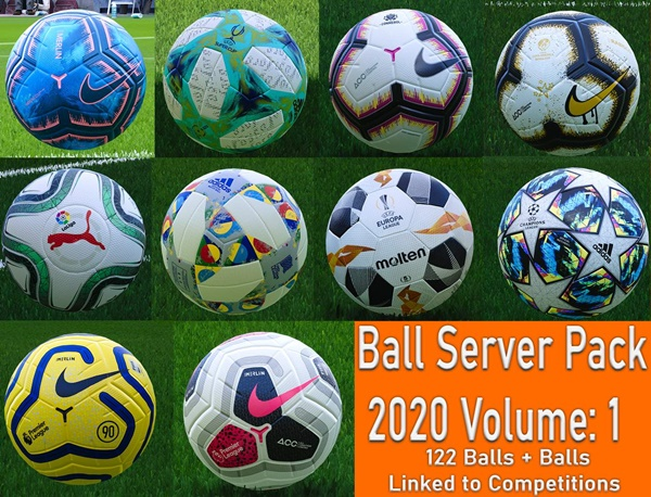 Balls Server Pack PES 2020 PC V1 - by Hawke
