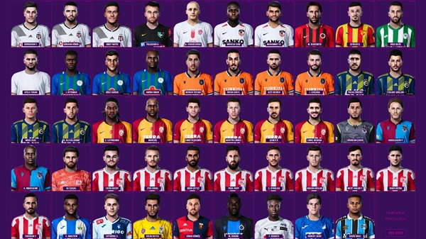 Mega Facepack eFootball PES 2020 PC - by Halil Furkan