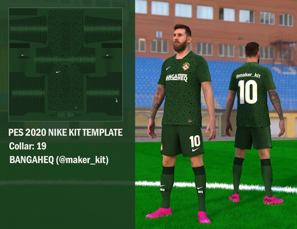 Template Kit Nike para eFootball PES 2020 - by KitMaker