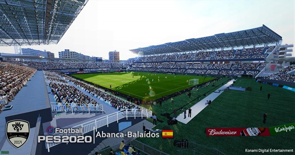 Estadio de Balaídos PES 2020 PC - by Arthur Torres