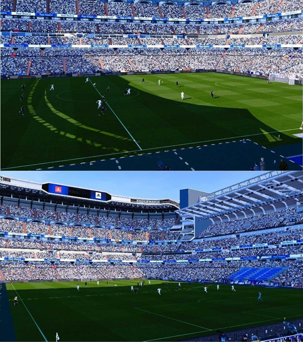 Santiago Bernabeu Stadium PES 2020 PC - by ttb