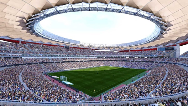 Wanda Metropolitano Stadium PES2020 PC - by Ttb