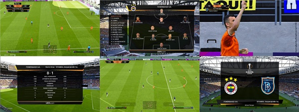 Marcadores UEFA Europa League PES 2020 PC - by Furkan6141