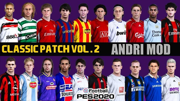 Classic Patch Vol 2 DP 4.0 PES 2020 PC - by andri mod