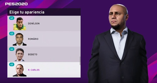 Leyendas en Liga Master PES 2020 PC - by Galvarino Antinanco