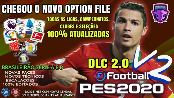 Emerson Pereira Option File V2 eFootball PES 2020 PS4