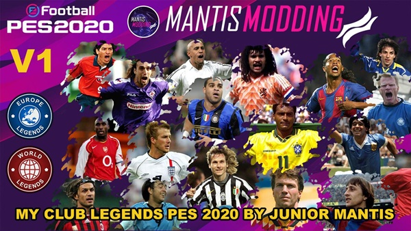 MyClub Legends Offline Mode eFootball PES 2020 PS4 V1 - by JuniorMantis