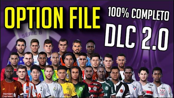 PesVicioBr Option File DataPack 2.0 PES 2020 PS4