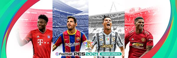 Ya disponible eFootball PES 2021 Season Update