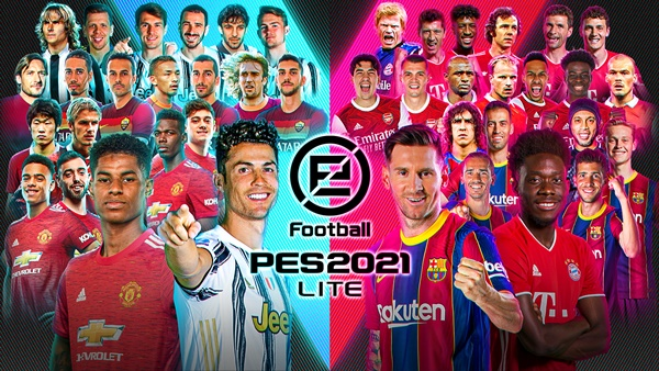 Ya está disponible eFootball PES 2021 LITE