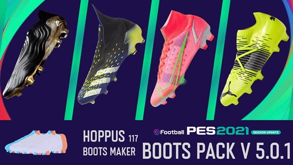 Boots Pack V5.0.1 AIO PES 2021 - by Hoppus 117