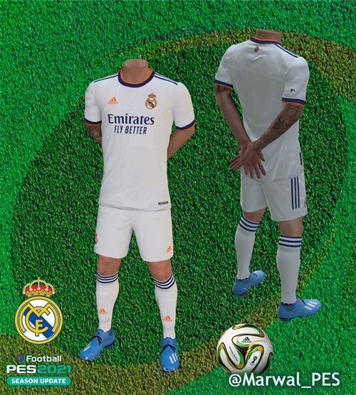 equipacion real madrid pes 2021