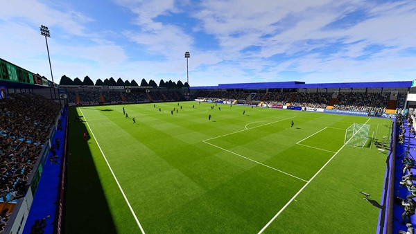 Estadio El Toralin Ponferradina PES 2021 - by TheSpecialOne