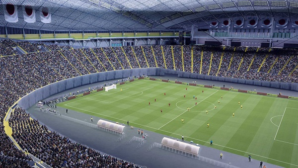 Estadio Saporro Dome Arena PES 2021 - by Callmev
