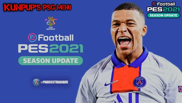 Menú Paris Saint-Germain PES 2021 - by Kunpup