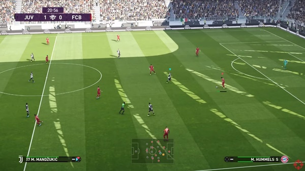 Gameplay Mod V4 PES 2021 - by Lewpops