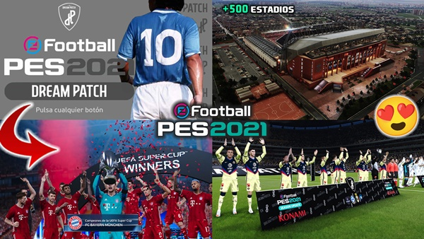 PES Dream Patch V1.2 PES 2021